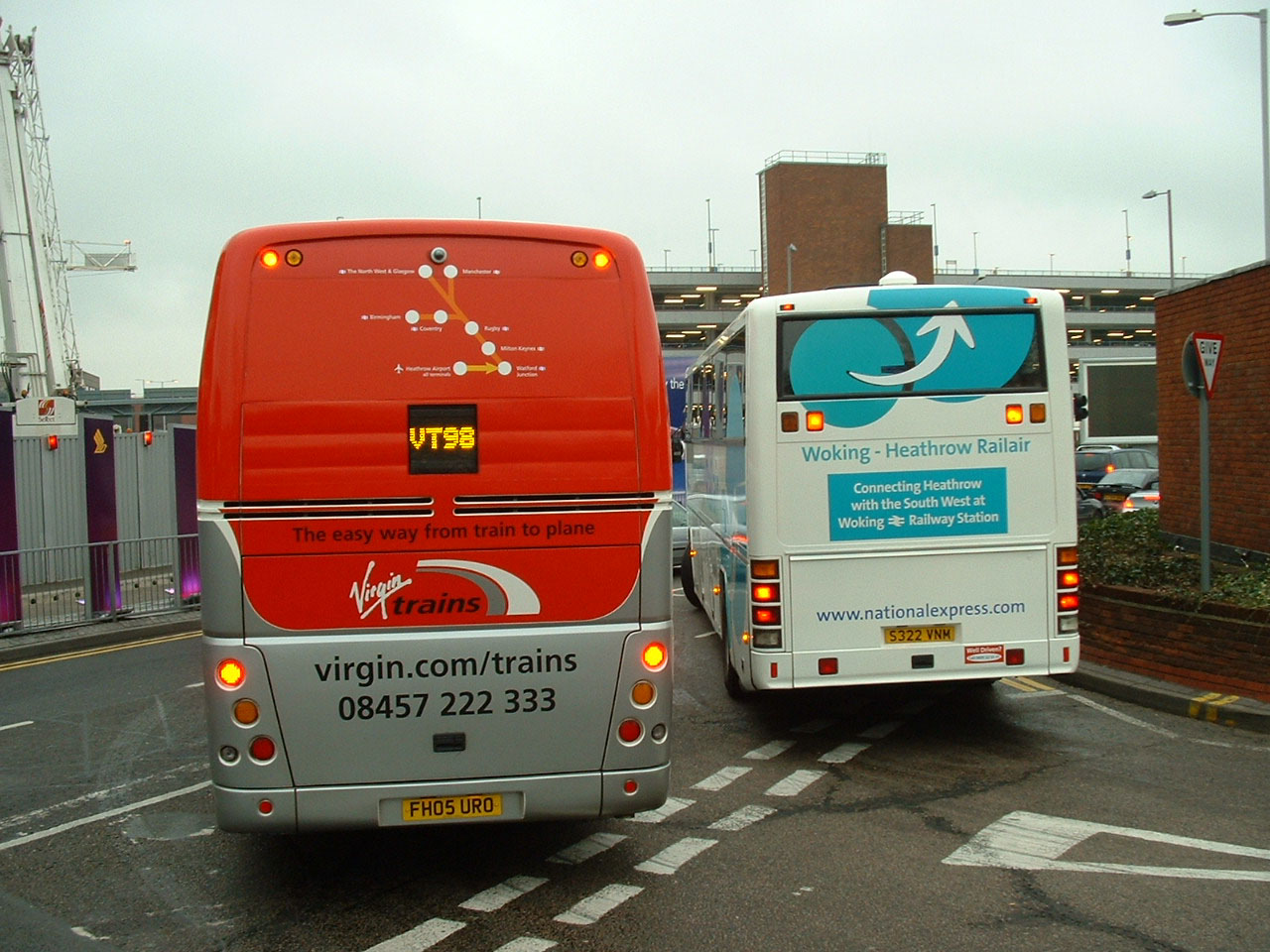 Showbus Photo Gallery National Express