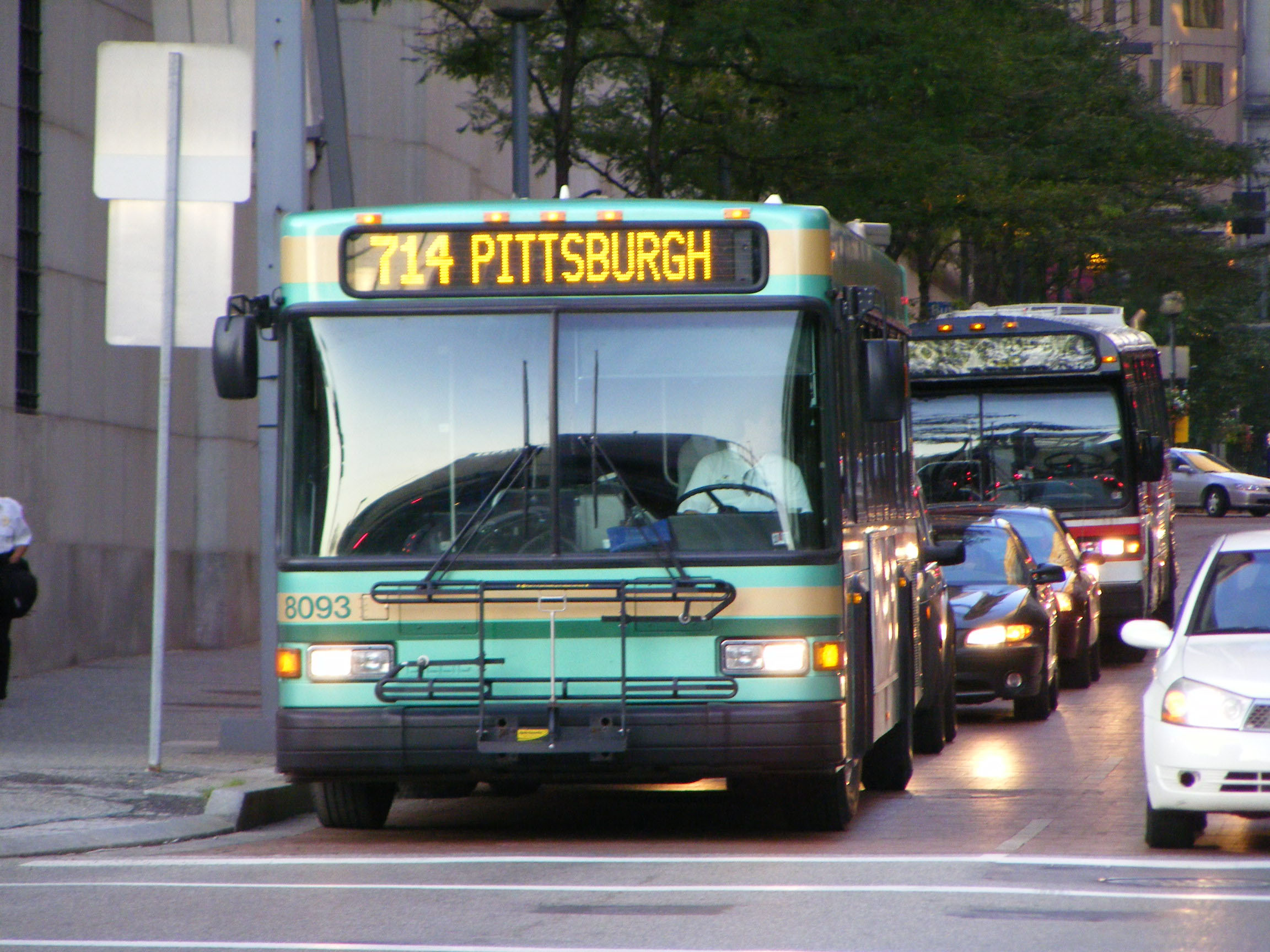 New Castle Area Transit Authority Gillig Advantage