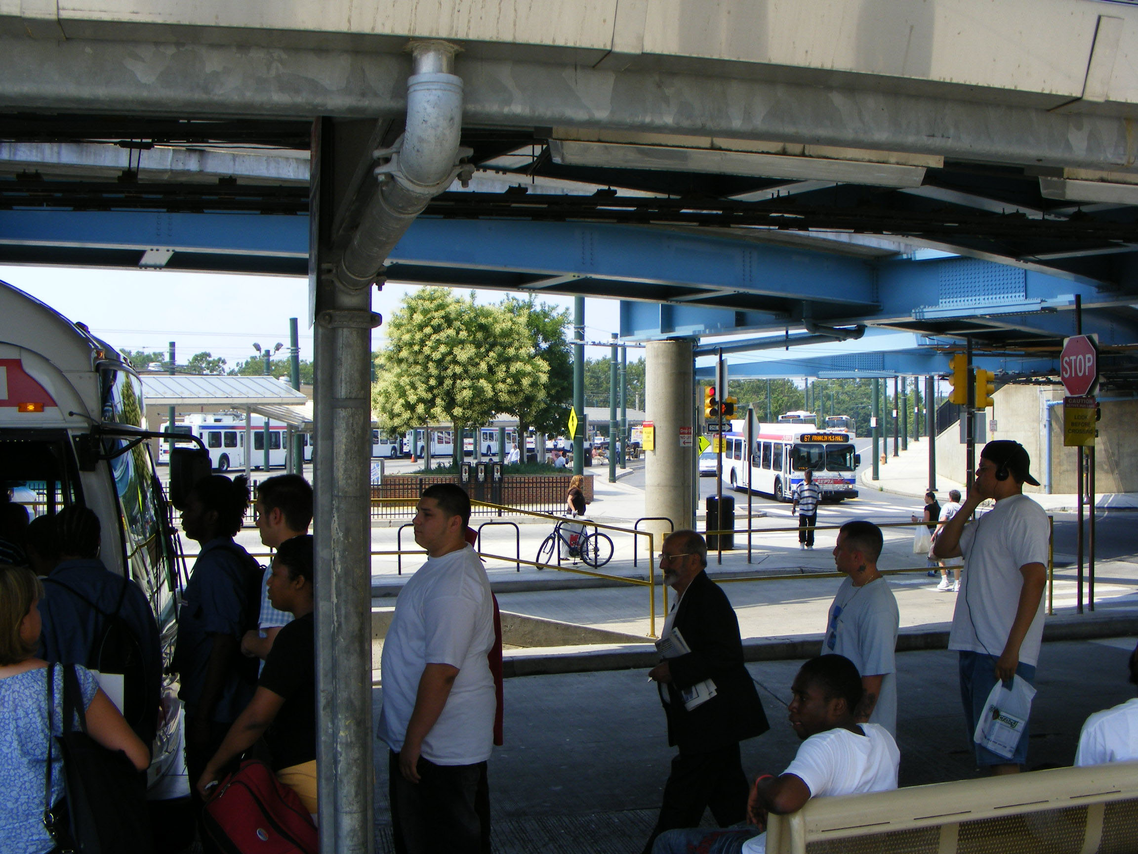 Frankford Tramsportation Center Bus Station