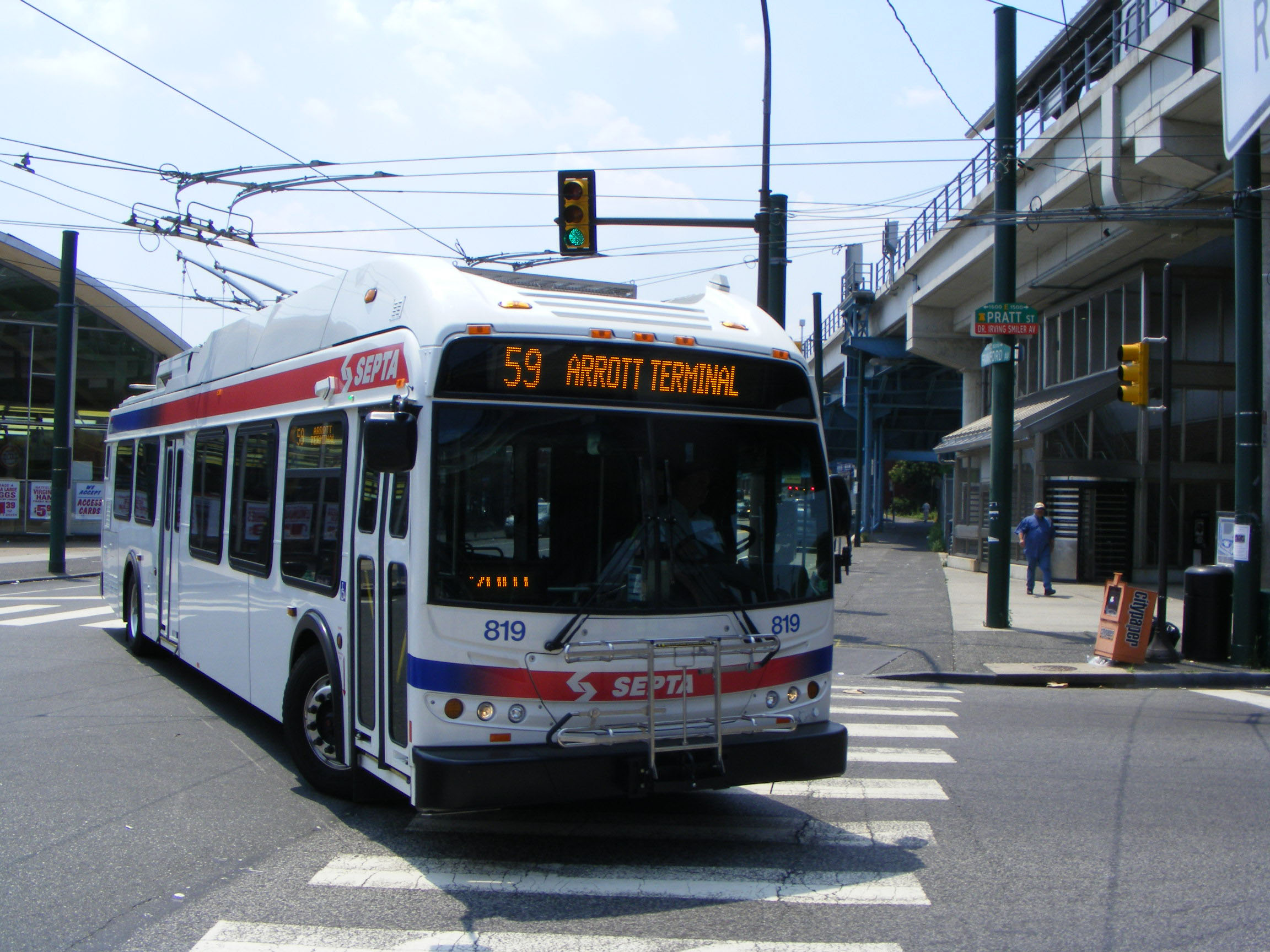SEPTA New Flyer ER40LF