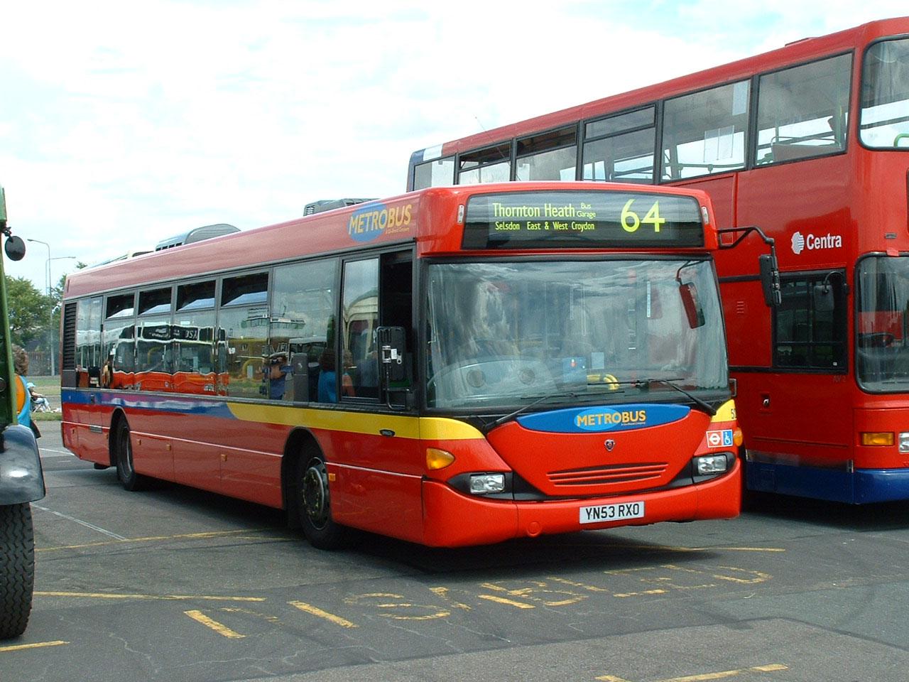 Metrobus - SHOWBUS LONDON PHOTO GALLERY