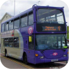 Reading Buses purple brands