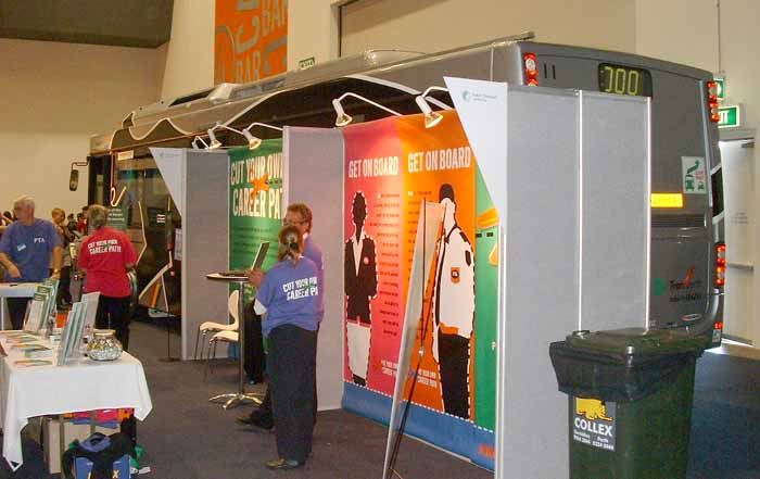 Exhibition Stand Builders Perth : Transperth australia showbus photo gallery