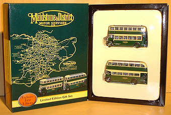 Gift Set 99923 - EFE Subscribers Service Set - Maidstone & District Motor Services.