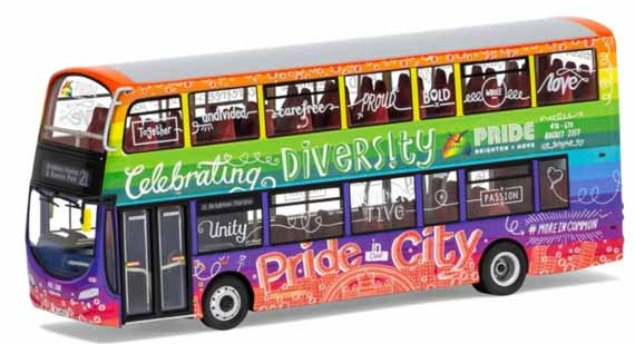 Brighton & Hove Volvo B9TL Wright Eclipse Gemini Pride City