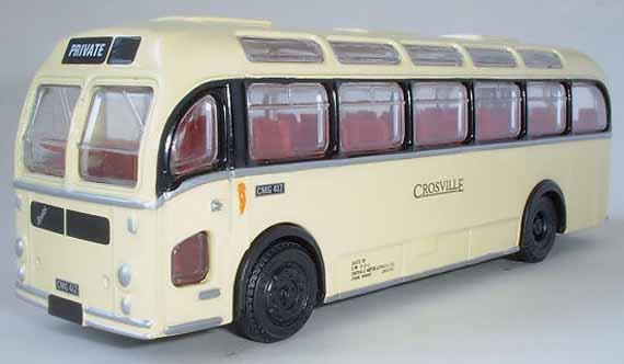 Crosville Model Fleet Focus