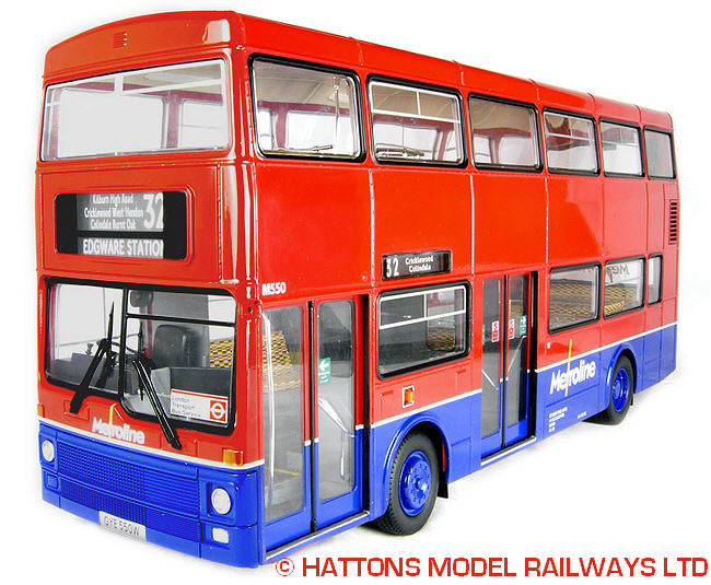 Showbus Model Fleet Focus Metroline