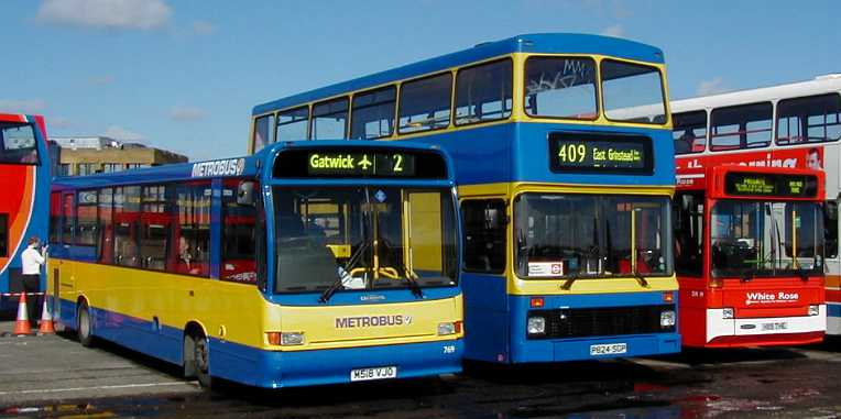 Metrobus Dart/Marshall & Olympian/Northern Counties