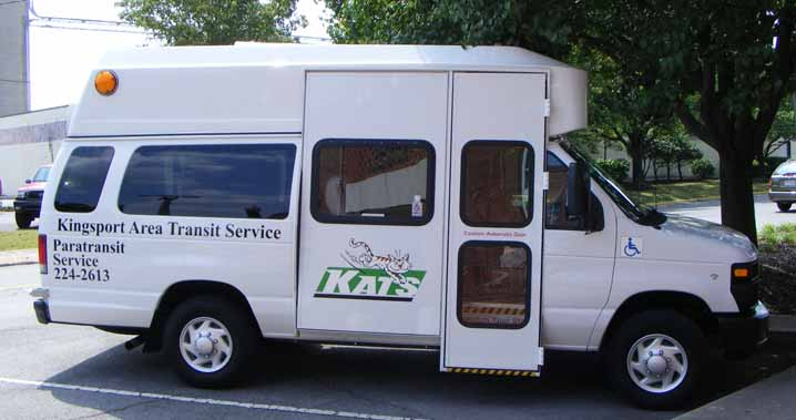 KATS Ford paratransits