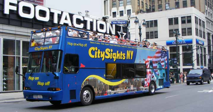 City Sights Freightliner XB-R Speciality Bus Manufacturing City Looper 802