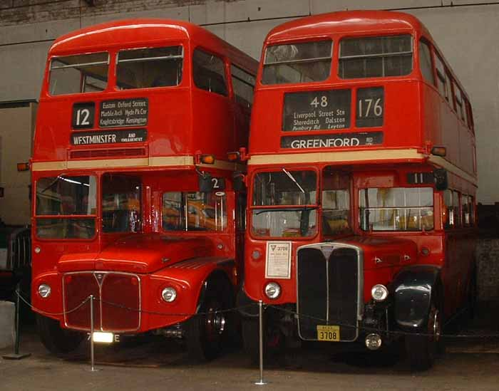 London Transport Routemaster RM1708