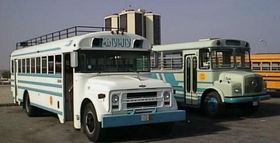 Bahrain Tata & GMC school bus