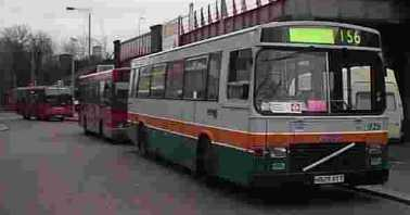 Grey Green Volvo B10M/East Lancs rebuild 929
