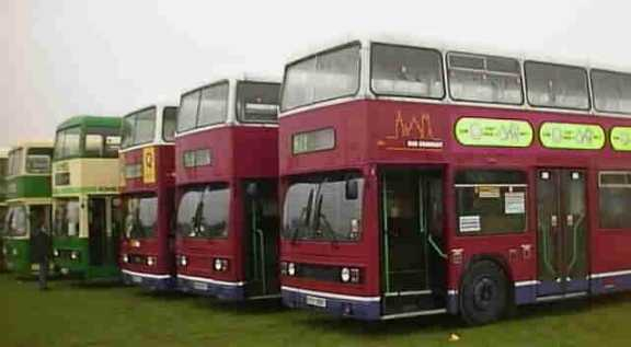 City of Oxford Leyland Titans at Showbus
